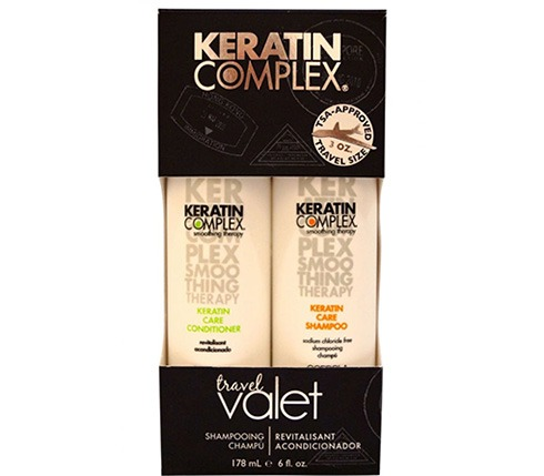Keratin Complex shampoo and conditioner